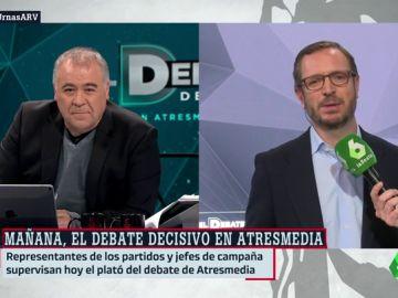 """Javier Maroto: """"¿Qué pensará un socialista de buena fe si ve que los apoyan a Pedro Sánchez son Torra, Rufián y el PNV?"""""""