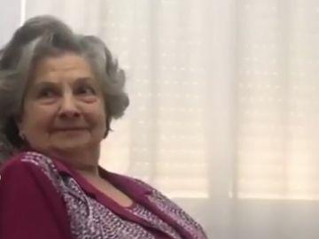 Guadalupe Fiñana, por muchos conocida como 'abuela de Dragones'