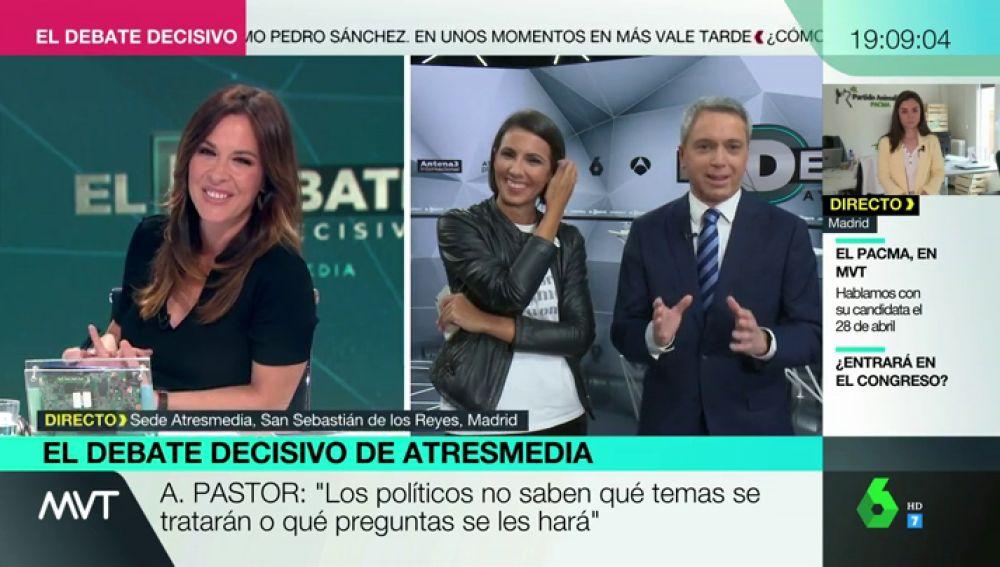 ¿Cómo va a ser el Debate Decisivo?, Ana Pastor y Vicente Vallés analizan las claves