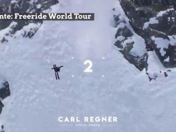 Pelos de punta: las 5 caídas más bestiales del Freeride World Tour 2019