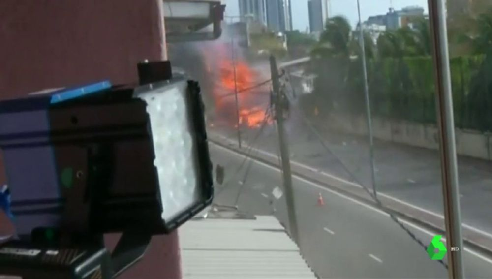 Desactivan un bomba casera escondida cerca del aeropuerto de Sri Lanka