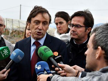 El candidato al Senado del PP por Almería Rafael Hernando