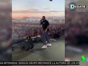 Will Smith irrumpe por sorpresa en la actuación de su hijo en Coachella