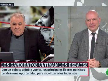 """Gabriel Sanz: """"La situación no es buena para unas elecciones en las que la izquierda quiere movilizar al máximo a sus votantes"""""""