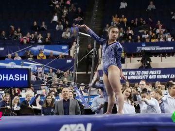 Katelyn Ohashi dice adiós a la gimnasia con un nuevo ejercicio que roza la perfección