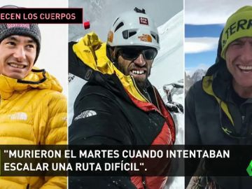 Recuperan en Canadá los cuerpos de los alpinistas Lama, Auer y Roskelly