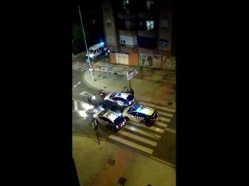 Tiroteo y persecución policial en Granada: varios detenidos y dos agentes heridos leves
