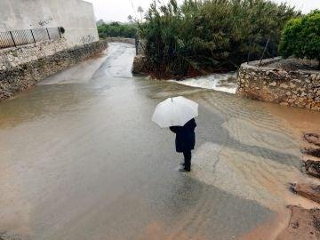 El temporal de lluvia y viento que afecta a la Comunitat Valenciana