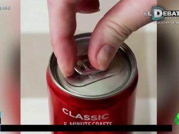 Este es el inesperado (pero efectivo) truco para abrir una lata sin que se te rompa la anilla