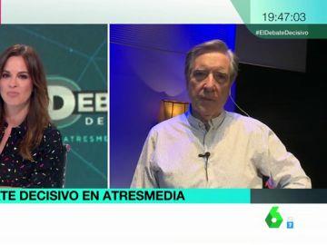 """Iñaki Gabilondo: """"No se sabe cuántos indecisos dejan de serlo después del debate, y viceversa"""""""
