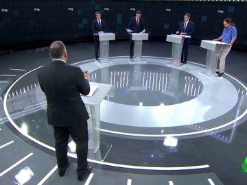 'Fact-check' del debate en TVE: estas son las medias verdades e informaciones incorrectas de los cuatro candidatos