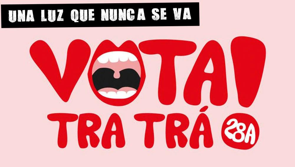 Ilustración que anima al voto