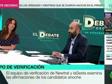 Verificamos las afirmaciones de los candidatos durante el debate electoral de Atresmedia