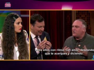 """Cristina Pedroche confiesa cómo conoció a Jimmy Fallon: """"Es una persona muy normal, es cómo le vemos en la tele"""""""