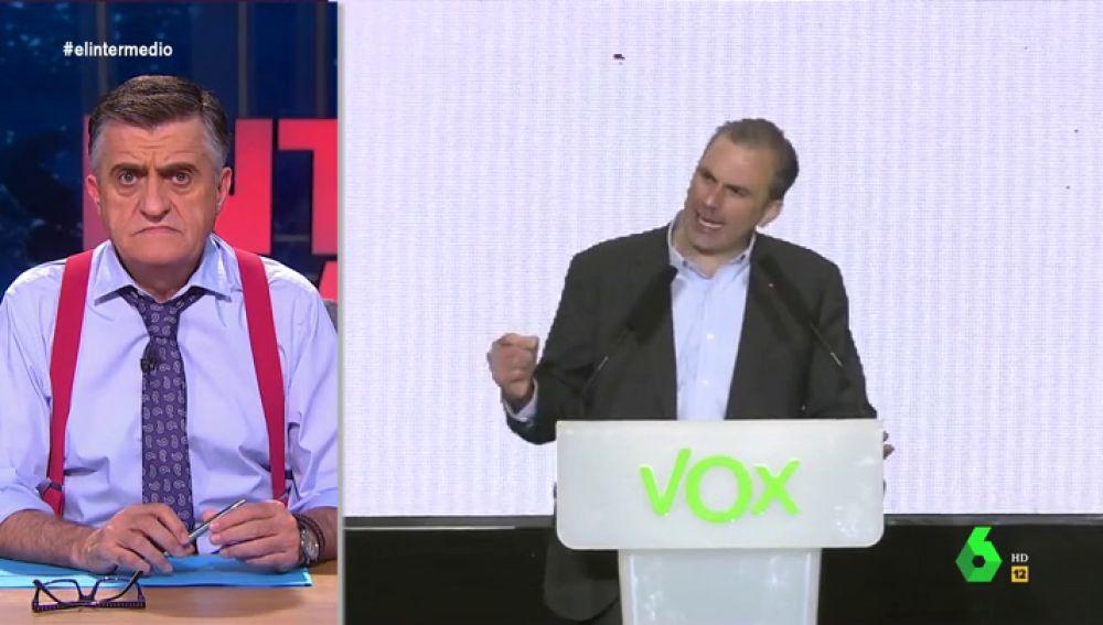 """La reacción de Wyoming al discurso de Vox sobre """"soberanía nacional"""": """"Antes de ponerse tan amenazante, deberían leer la Constitución"""""""