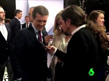 El momento en el que Casado e Iglesias hablan de sus hijos tras el Debate Decisivo de Atresmedia