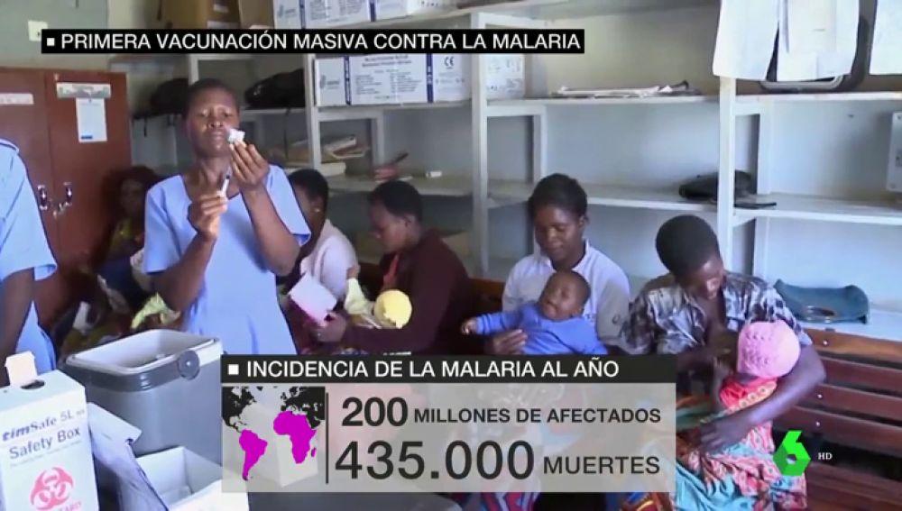 Miles de niños africanos recibirán la vacuna contra la malaria tras 30 años de investigación contra la enfermedad
