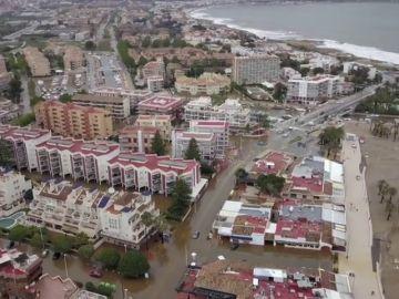 VÍDEO REEMPLAZO | Los terribles efectos del temporal en Xàbia, a vista de dron