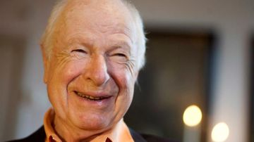 El dramaturgo Peter Brook