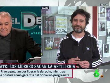 Antonio García Ferreras y Rafael Mayoral (Unidas Podemos)