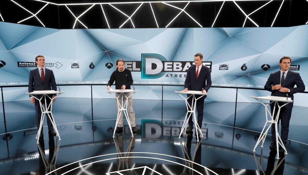 Resultado de imagen de debate atresmedia