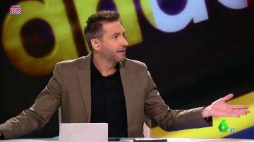 """La 'bronca' de Frank Blanco a Ana Morgade por utilizar el teléfono durante el programa: """"Deja el móvil, que estamos aquí"""""""