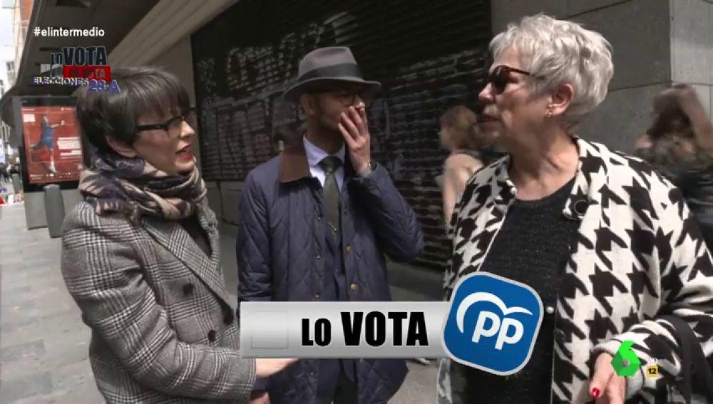 """Un concursante de 'Lo vota, no lo vota': """"La señora que vote al PP tiene que llevar un cardado que no entre ni por la puerta"""""""