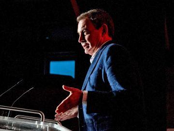 Rodríguez Zapatero en un acto del PSOE