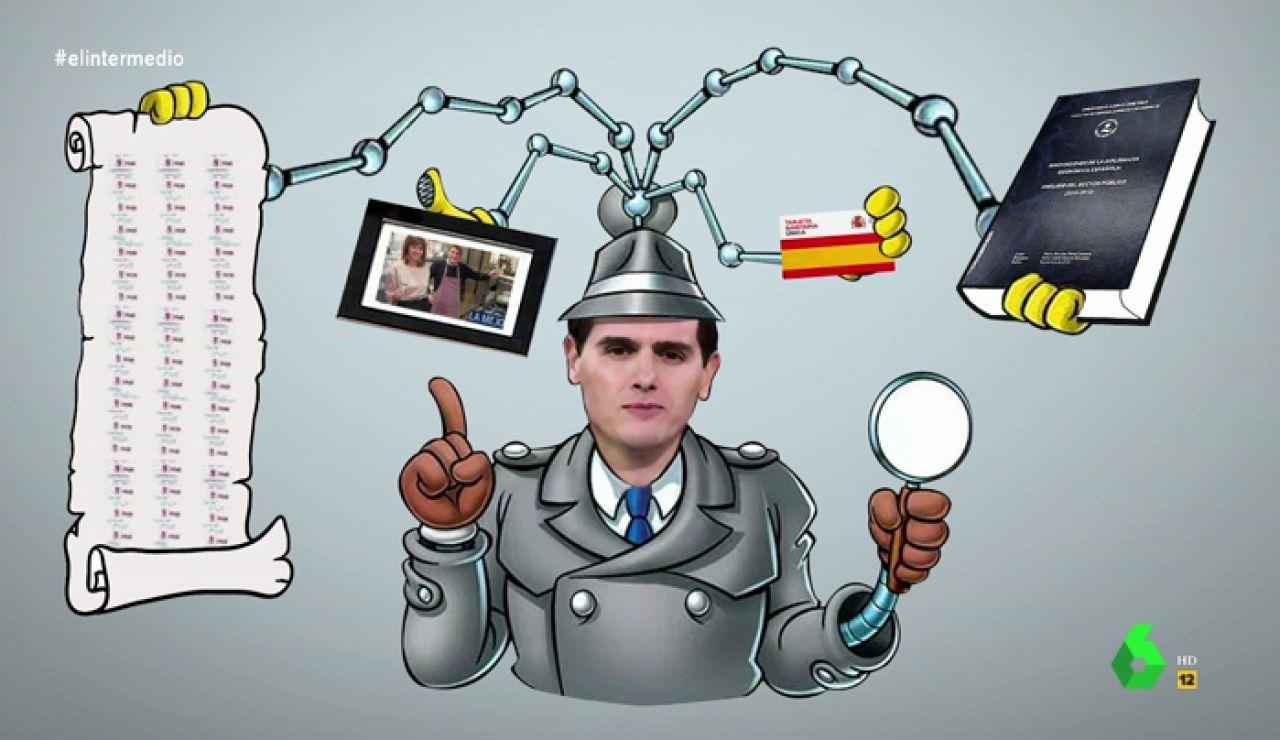 """No verás mejor análisis de los debates de Rivera: """"Es el inspector gadget de la política"""""""