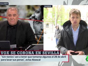 Antonio Garcia Ferreras e Íñigo Errejón