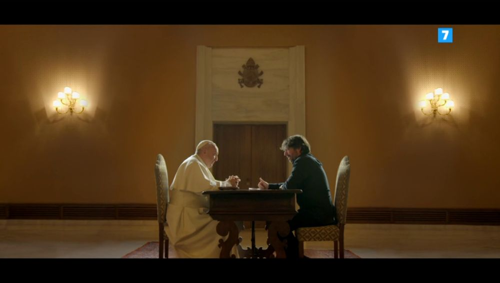 La pregunta de Jordi Évole al papa Francisco que nadie vio, este domingo en Salvados