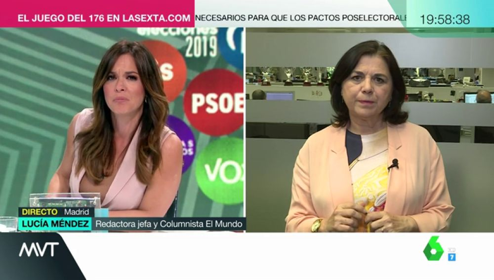 """Lucía Méndez: """"Ahora resulta que la mentira es la moneda corriente de la política"""""""