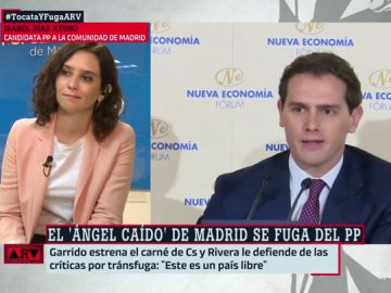 """La respuesta de Díaz Ayuso a Rivera: """"Juega con la palabra libertad cuando es un tema que no siempre conoce"""""""