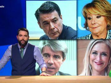 """Afectados por casos de corrupción, transfuguismo o robos de cremas: """"¿Qué les está pasando a los presidentes de la Comunidad de Madrid?"""""""