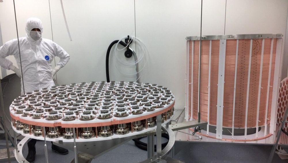 XENON1T, la compleja maquinaria que ha conseguido documentar el proceso