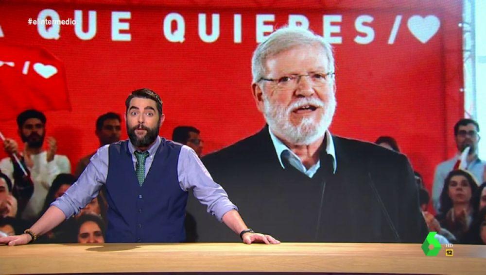 """El argumento definitivo de un político del PSOE a """"esos patriotas que dicen que queremos destruir España"""""""