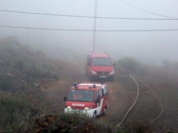La zona alta de Adeje (Tenerife).