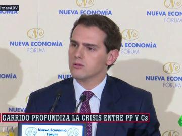 La fuga de Ángel Garrido profundiza la crisis entre PP y Ciudadanos