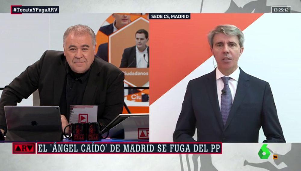 Antonio García Ferreras y Ángel Garrido