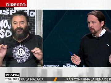 El Sevilla y Pablo Iglesias