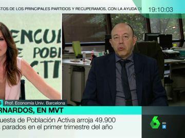 """Gonzalo Bernardos: """"En España no se espera recesión, no hay peligro, por mucho que lo diga la derecha"""""""