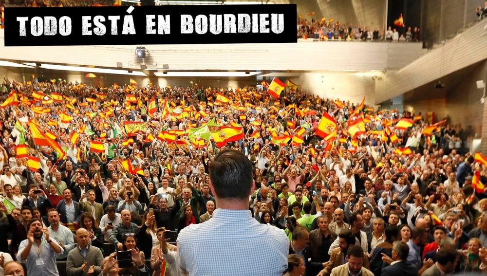 Acto de campaña de Vox en Sevilla