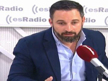 """El dardo de Santiago Abascal a Pablo Casado: """"Yo no estoy al frente de un partido que no controlo"""""""