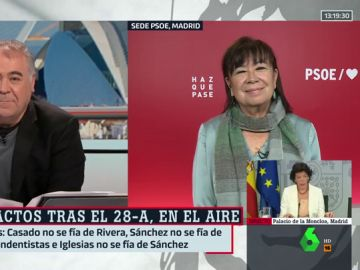 Antonio García Ferreras y Cristina Narbona