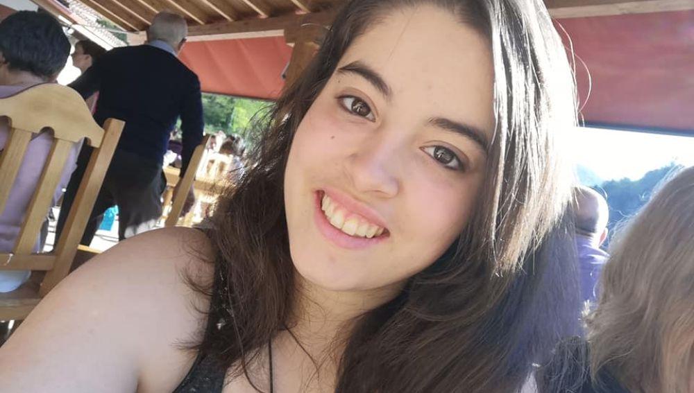 Imagen de la menor desaparecida difundida por la familia en redes sociales