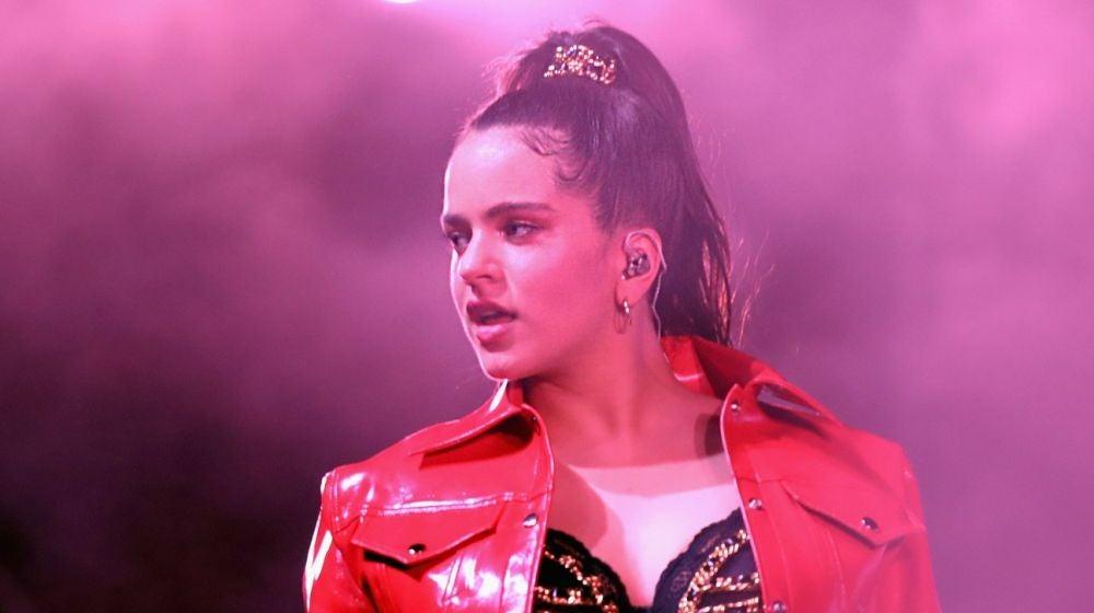 La cantante Rosalía