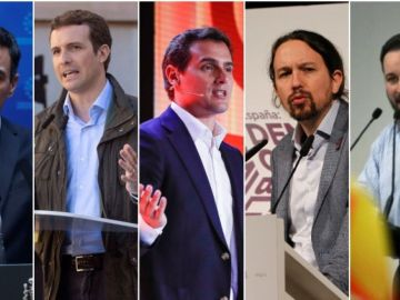 Principales candidatos a las elecciones