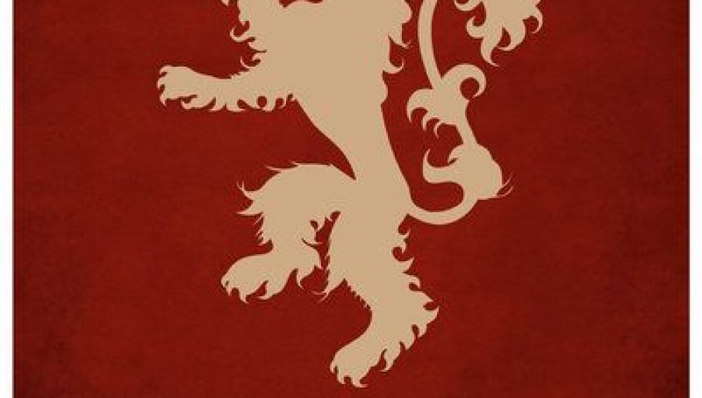A pesar de la fiereza del león rampante de los Lannister, poco podría hacer contra un dragón de los Targaryen