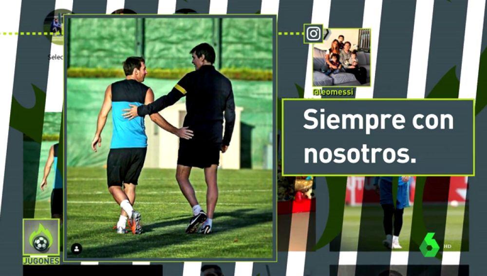 Tito Vilanova convenció a Messi para que se quedara en el Barcelona seis días antes de morir