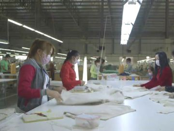 Empresa que fabrica ropa